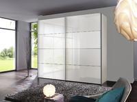 Šatní skříň s posuvnými dveřmi FOUR YOU bílý lak