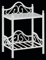 Noční stolek Anna, bílý