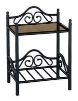 Noční stolek Anna, černý