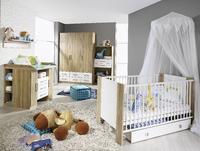 Dětský pokojíček Samira, Sonoma dub/ alpin bílá