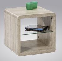 Odkládací stolek Melitta, SanRemo dub