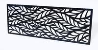 Designový plot Listy II
