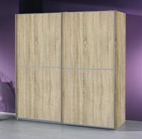 Šatní skříň s posuvnými dveřmi Linea Sonoma dub, š.226/v.235
