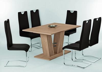 Jídelní stůl Adrian 140/180x90, Sonoma dub - 1