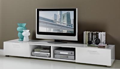 TV stolek 3301 (84), bílý - 1