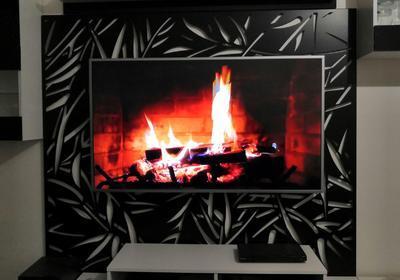 Televizní Panel  Bambus - 1
