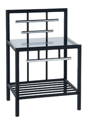 Noční stolek Romina, černý