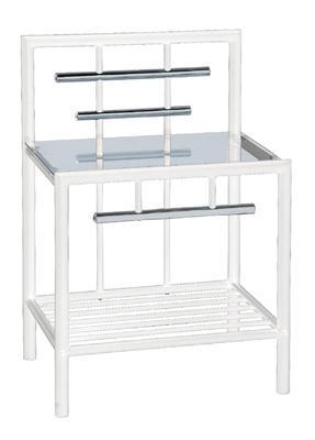 Noční stolek Romina, bílý