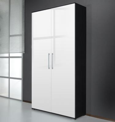Botník Scarpa 0122 (49) jasan carbon/ vysoký bílý lesk - 1