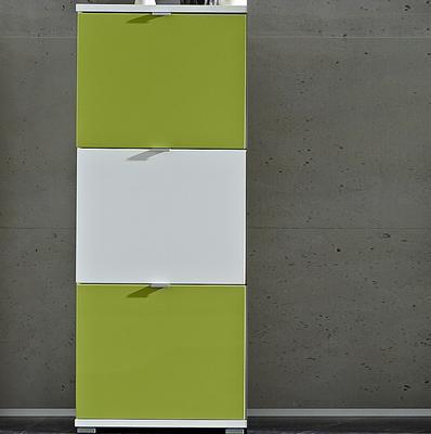 Botník Colorado 3261 bílý/zelený, vysoký lesk - 1