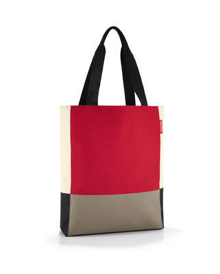 reisenthel patchworkbag red