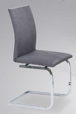 Jídelní židle Lars, tmavě šedá - 1