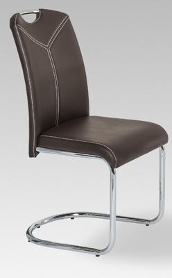 Jídelní židle Marina, tmavě hnědá - 1