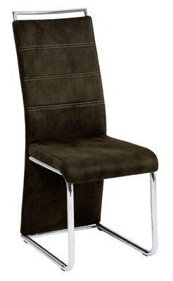 Jídelní židle Milano, tmavě hnědá - 1