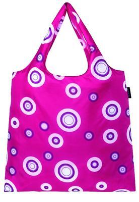 reisenthel mini maxi shopper bubbles hot berry - 1