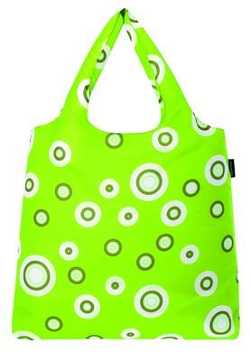 reisenthel mini maxi shopper bubbles lime green - 1