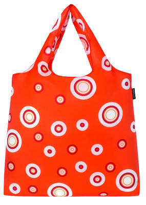 reisenthel mini maxi shopper bubbles carrot - 1