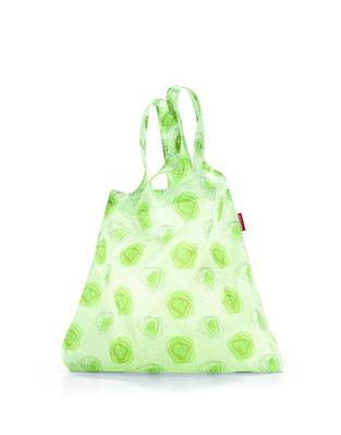 reisenthel mini maxi shopper flower green - 1