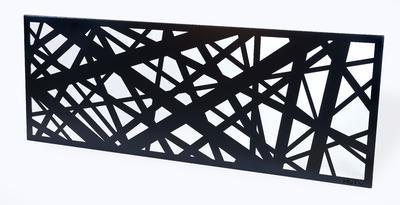 Designový plot Pavučina I
