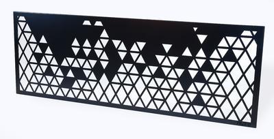 Designový plot Trojúhelníky