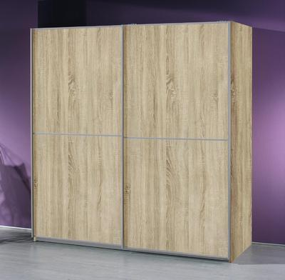 Šatní skříň s posuvnými dveřmi Linea Sonoma dub, š.270/v.223