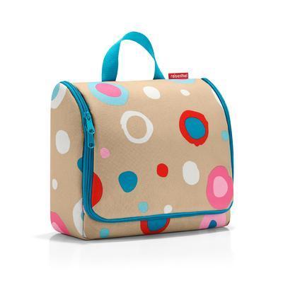 reisenthel toiletbag XL funky dots 1