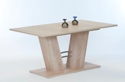 Jídelní stůl Adrian 140/180x90, Sonoma dub - 2