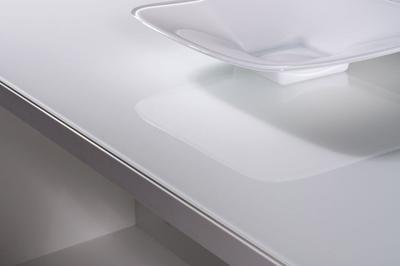 Konferenční stolek Linea 1549, bílý (84) - 2