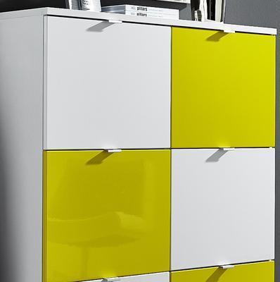 Botníkové kombinace Colorado, bílý/ žlutý - 2