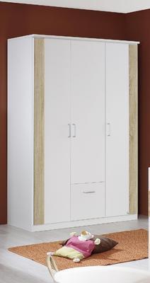 Dětský pokojíček Tiana alpin bílá/ Sonoma dub - 2