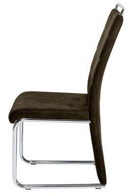 Jídelní židle Milano, tmavě hnědá - 2