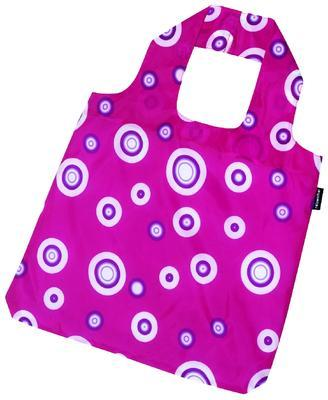 reisenthel mini maxi shopper bubbles hot berry - 2