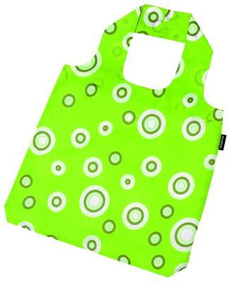 reisenthel mini maxi shopper bubbles lime green - 2