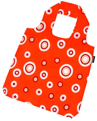 reisenthel mini maxi shopper bubbles carrot - 2