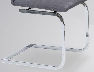 Jídelní židle Lars, tmavě šedá - 3
