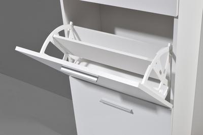 Kompaktní designová předsíň 3199 (178), bílá/ Sonoma dub - 4