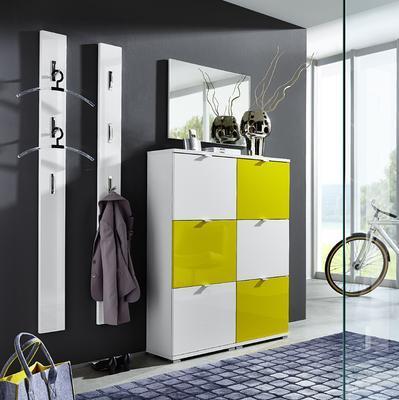 Botníkové kombinace Colorado, bílý/ žlutý - 4