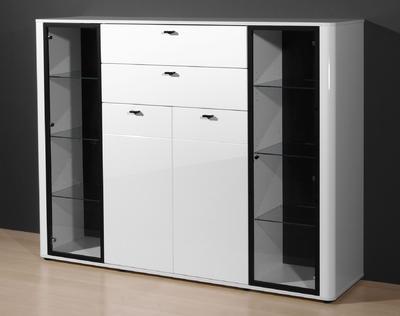 Obývací pokoj Monza 4 (7-dil.), bílý - 6