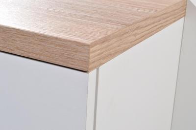 Kompaktní designová předsíň 3199 (178), bílá/ Sonoma dub - 6
