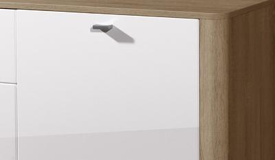 Obývací pokoj Monza 8 (7-dil.), Sonoma dub/ bílý - 7