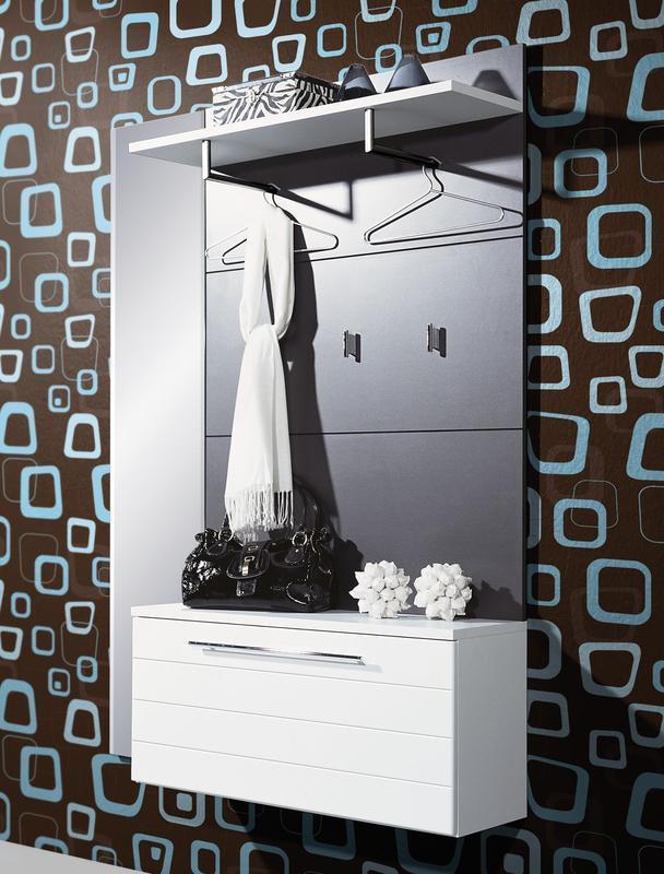 GERMANIA Designová předsíň 1116, 110 – bílá/ antracit