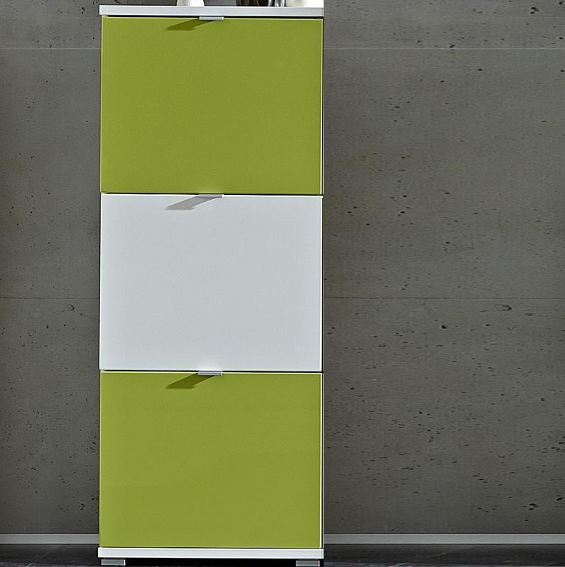 GERMANIA Botník Colorado 3261, bílý/ zelený