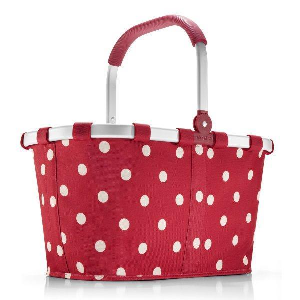 reisenthel carrybag ruby dots