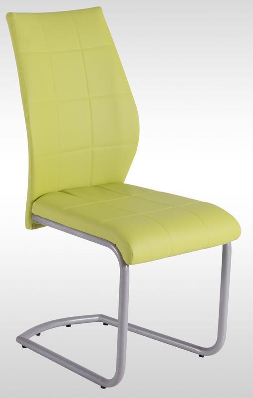 Jídelní židle Lukas, zelená