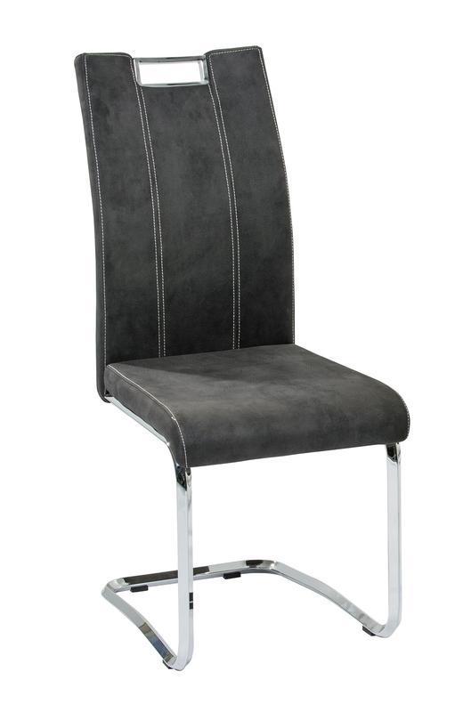 Jídelní židle Napoli, antracit