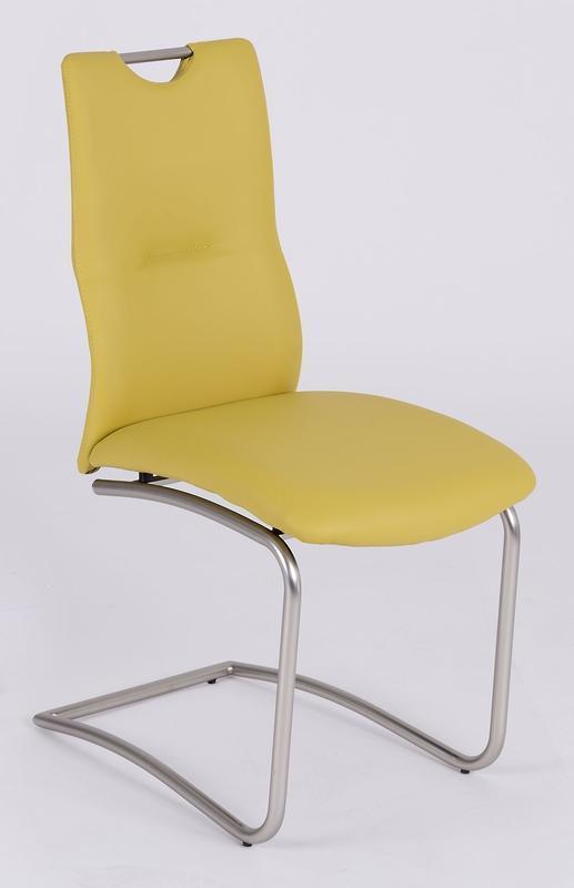 Jídelní židle Tina, kari žlutá