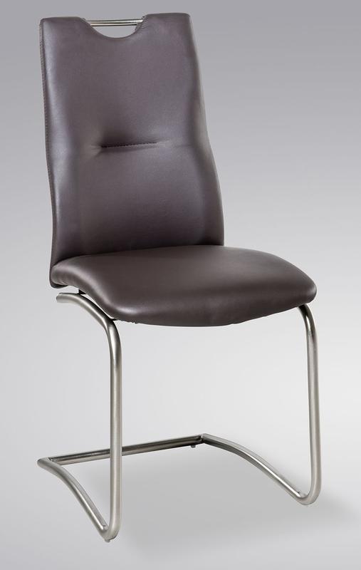 Jídelní židle Tina, tmavě hnědá
